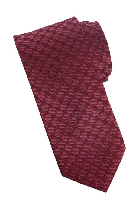 Edwards Garment Uniform Tonal Circles Silk Tie