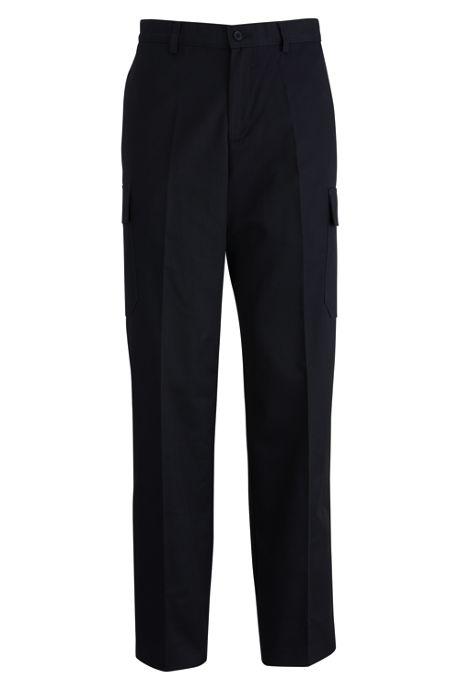 Edwards Garment Men's Regular Uniform Utility Chino Cargo Pants