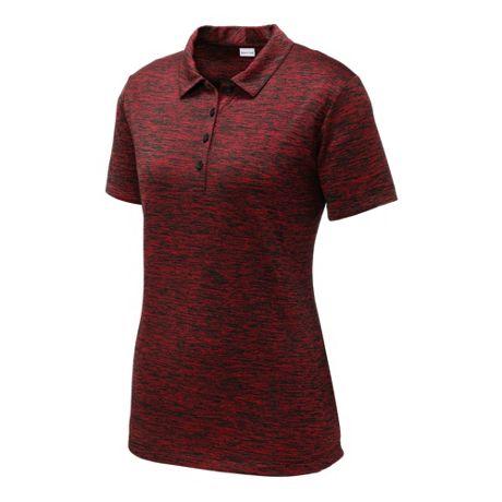 Sport-Tek Women's Regular Custom Embroidered PosiCharge Polo Shirt