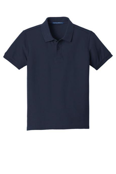 Port Authority Unisex Youth Classic Custom Logo Pique Polo Shirt