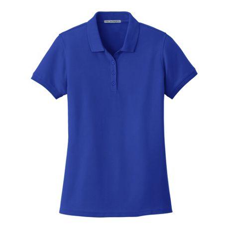 Port Authority Women's Regular Classic Custom Logo Pique Polo Shirt