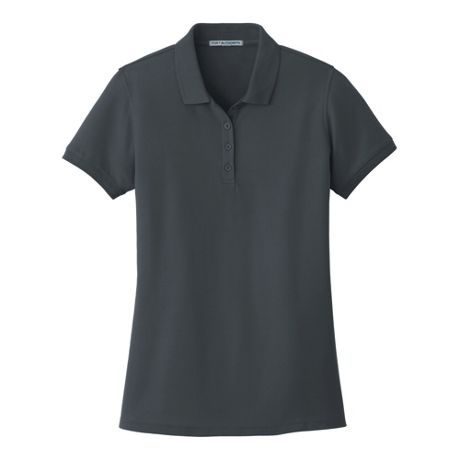 Port Authority Women's Extra Plus Size Classic Custom Logo Pique Polo Shirt