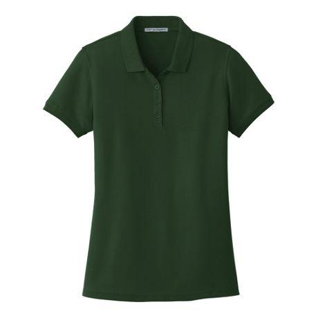 Port Authority Women's Plus Size Classic Custom Logo Pique Polo Shirt