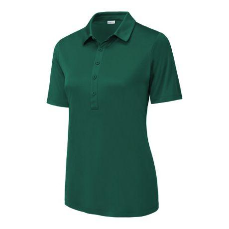 Sport-Tek Women's Plus Size Posi-UV Pro Wicking Polo Shirt