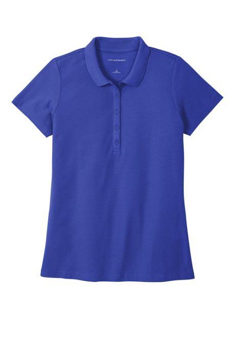 Port Authority Women's Plus Size Custom Logo SuperPro React Polo Shirt