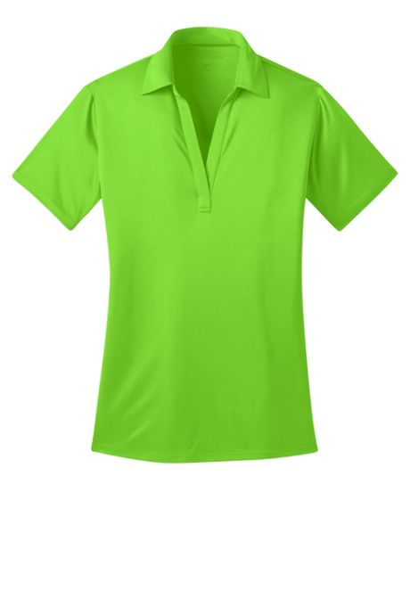 Port Authority Women's Regular Embroidered Silk Touch Performance Polo Shirt