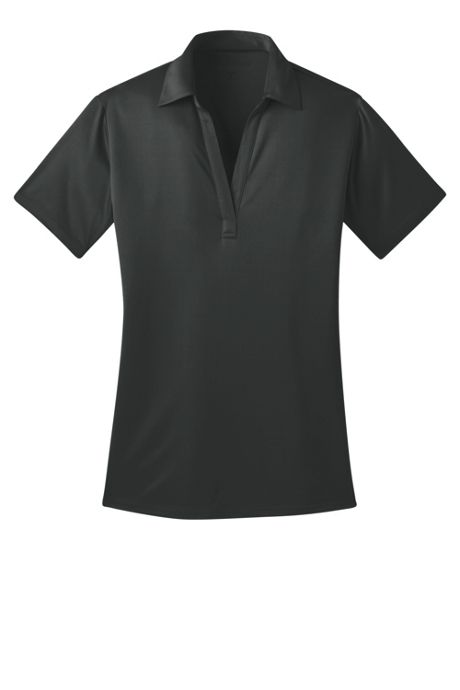 Port Authority Women's Plus Size Embroidered Silk Touch Performance Polo Shirt