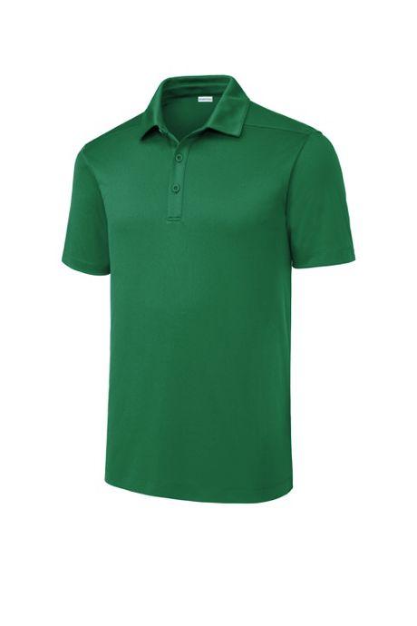 Sport-Tek Men's Regular Custom Logo Posi-UV Pro Wicking Polo Shirt