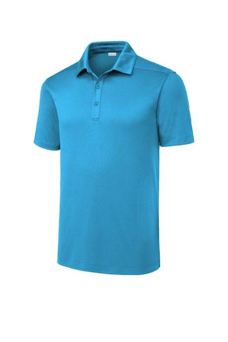 Sport-Tek Men's Big Custom Logo Posi-UV Pro Wicking Polo Shirt