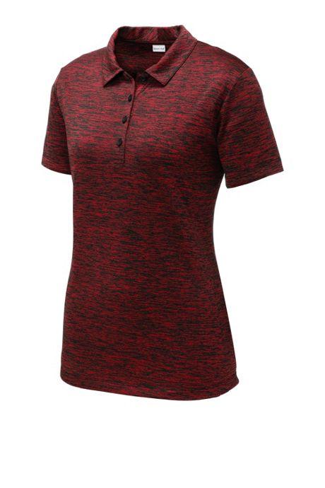 Sport-Tek Women's Plus Size Custom Embroidered PosiCharge Polo Shirt