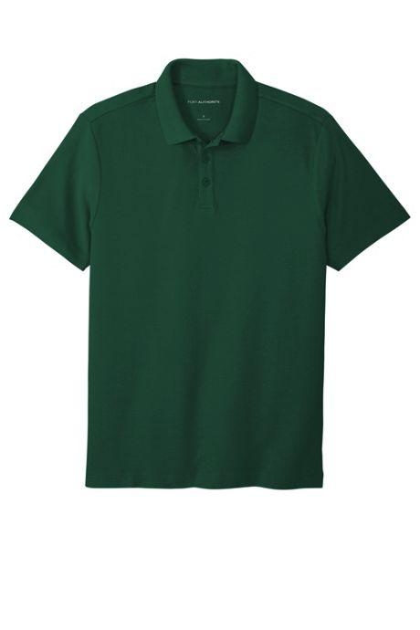 Port Authority Men's Big Custom Logo SuperPro React Polo Shirt