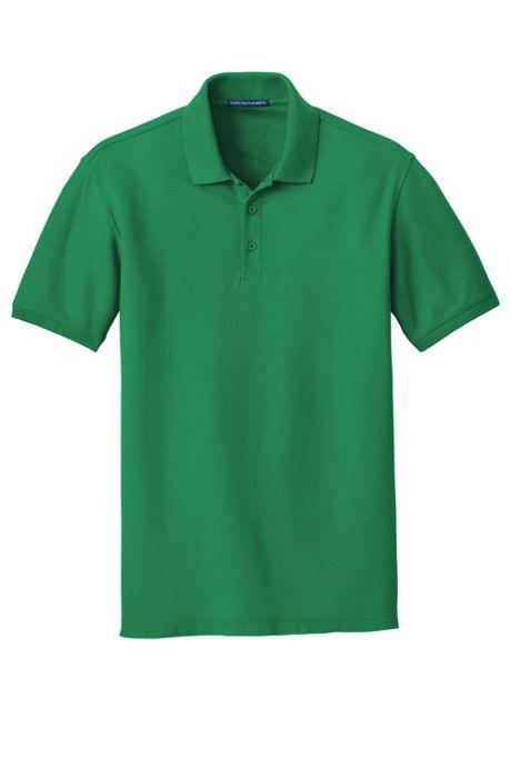 Port Authority Men's Big Classic Custom Logo Pique Polo Shirt