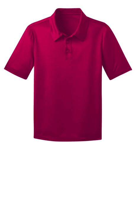 Port Authority Unisex Youth Silk Touch Performance Polo Shirt
