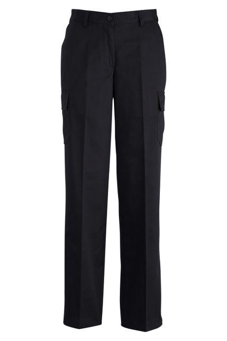Edwards Garment Women's Plus Size Utility Chino Cargo Pants