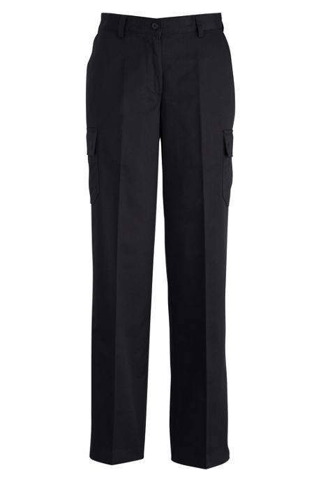Edwards Garment Women's Extended Plus Size Utility Chino Cargo Pants