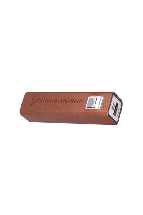 Tuscany Custom Logo Executive Power Bank USB Device Charger