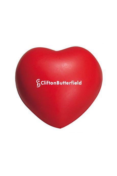 Heart Custom Logo Stress Reliever