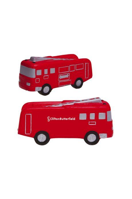 Fire Truck Custom Logo Stress Reliever