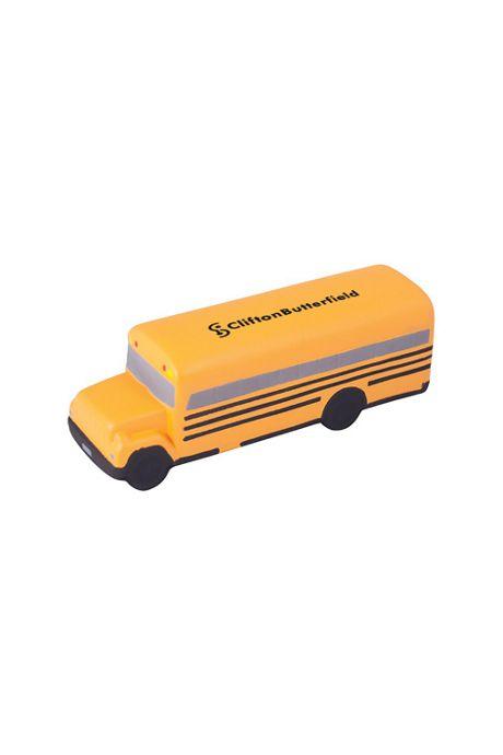 School Bus Custom Logo Stress Reliever