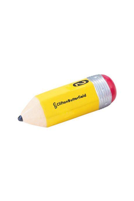 Pencil Custom Logo Stress Reliever