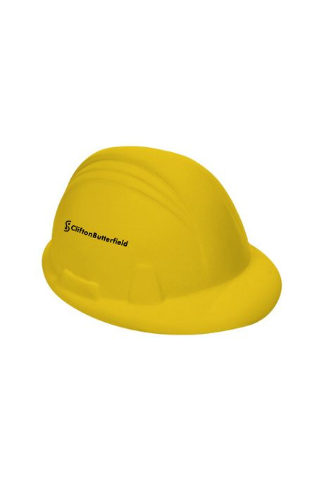 Hard Hat Custom Logo Stress Reliever