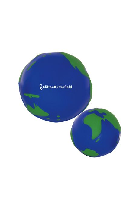 Globe Custom Logo Stress Reliever