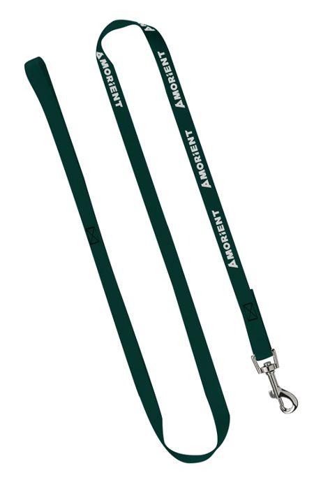 3/4 inch Nylon Custom Logo Cat and Dog Leash with Snap Hook
