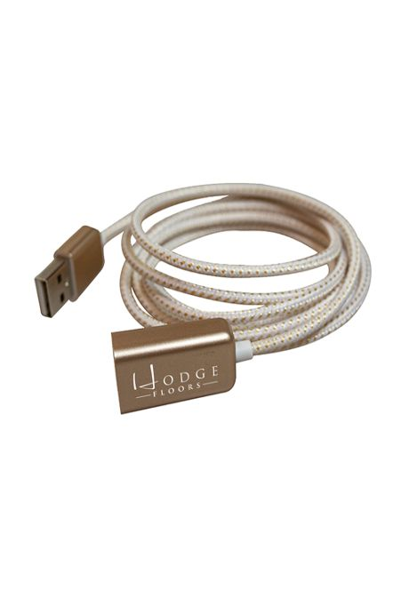 Braided Custom Logo USB Extension Cord Charging Cable
