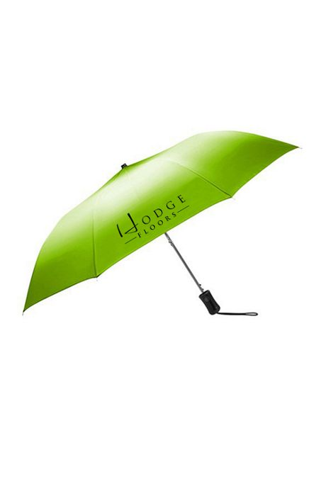Ombre Custom Logo Auto Open Compact Umbrella