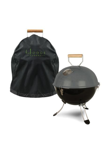 Coleman Portable Party Ball Charcoal Grill with Custom Logo Cover