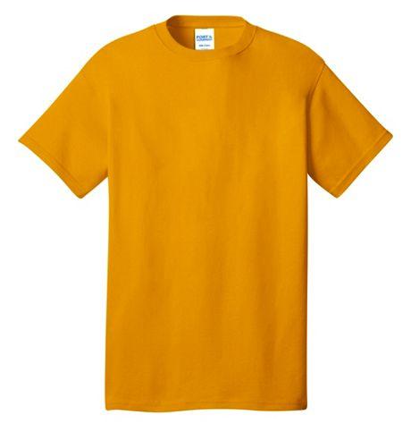 Port & Company Unisex Extra Big Plus Size Screen Print Cotton T-Shirt