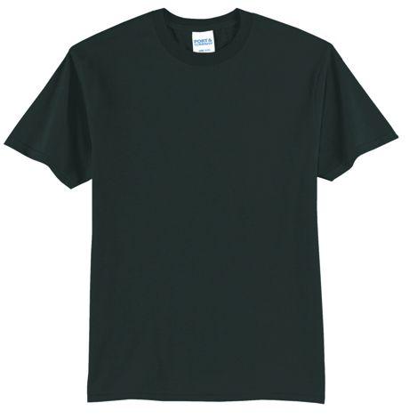 Port & Company Unisex Regular Custom Logo Blend Screen Print T-Shirt