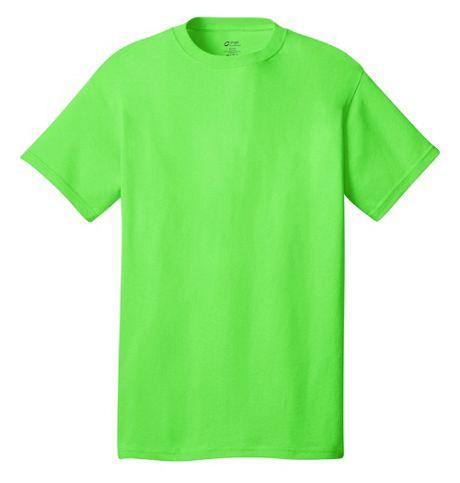 Port & Company Unisex Regular Custom Screen Print Cotton T-Shirt