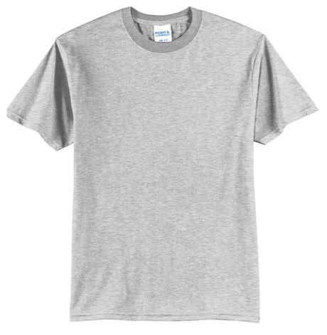 Port & Company Unisex Big Plus Size Logo Blend Screen Print T-Shirt