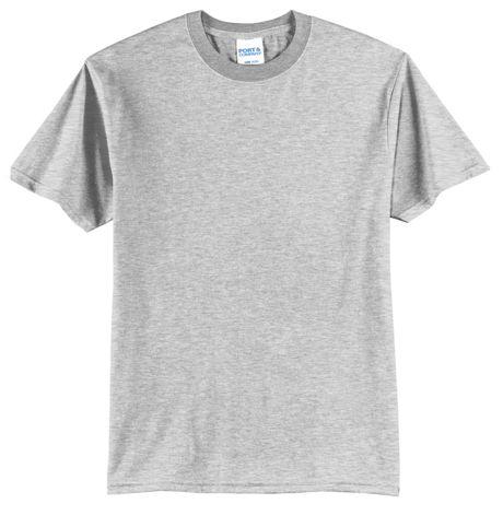 Port & Company Unisex Extra Big Plus Size Blend Screen Print T-Shirt