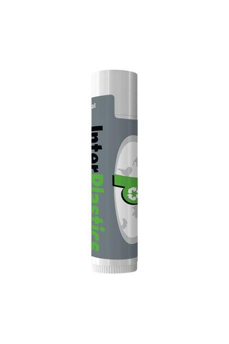 Lip Balm Moisturizer in Custom Logo White Tube
