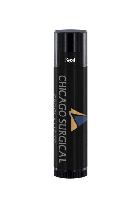 SPF 15 Lip Balm in Custom Logo Black Tube