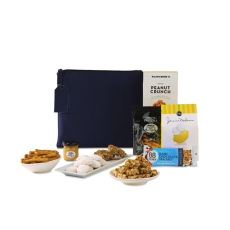 You're Appreciated Custom Logo Pouch with Snacks Gift Set