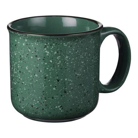 15oz Custom Logo Ceramic Campfire Coffee Mug