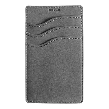 Nuba RFID Custom Logo 3 Pocket Phone Wallet