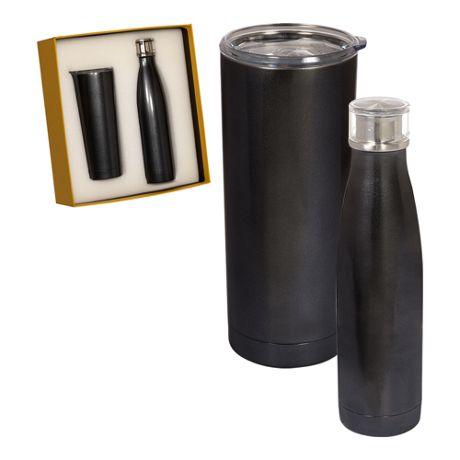BUILT 20oz Custom Logo Vacuum Insulated Tumbler and Water Bottle Set