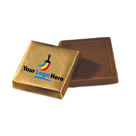 Custom Logo Wrapper Chocolate Squares