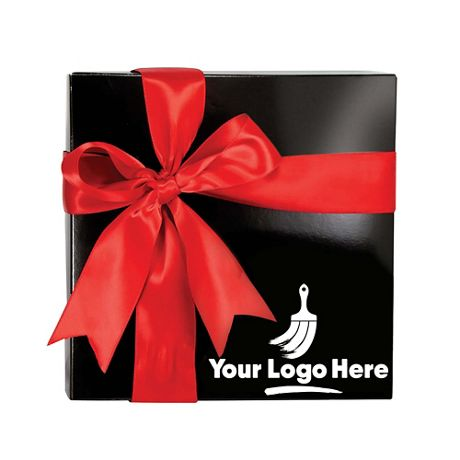 Delights Four Gourmet Confections with Custom Logo Gift Box