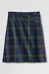 School Uniform Plaid A-line Skirt