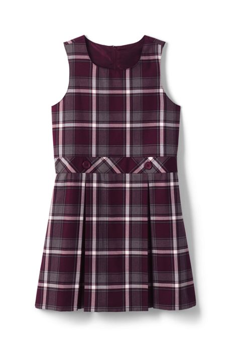 Little Girls Plaid Jumper