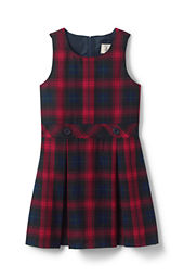Little Girls' Plaid Jumper