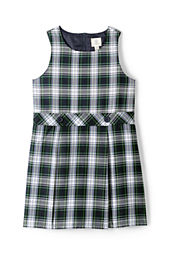 School Uniform Girls' Plaid Jumper