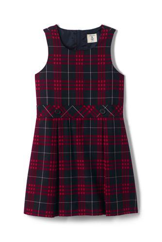 2d3677699d1 School Uniform Girls Plaid Jumper from Lands' End