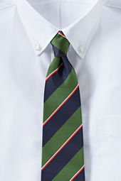 Men's Regimental Stripe Necktie