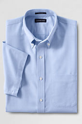 Men's Short Sleeve Oxford Dress Shirt